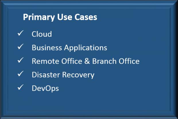 KVM Hyperconvergence Use Cases