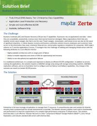 RPDF_Maxta and Zerto Solution Brief