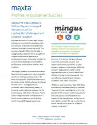 RPDF_Mingus Software