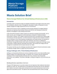 RPDF_VD Infrastructure Brief