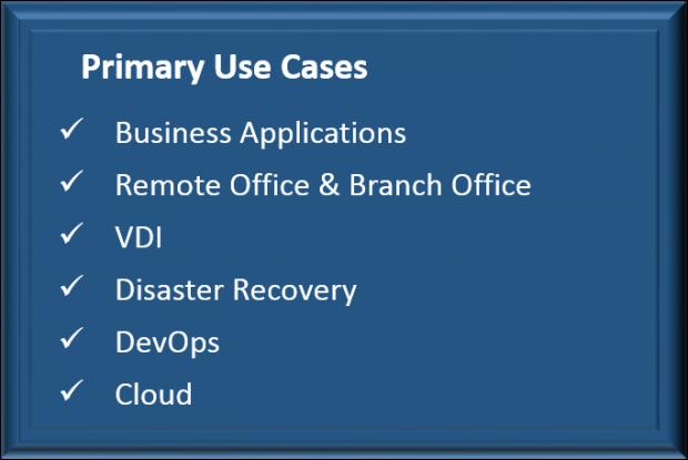 VMware Hyperconvergence Use Cases