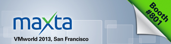 Visit Maxta at VMworld 2013, San Francisco