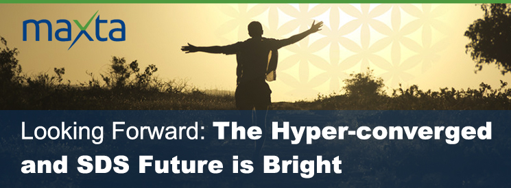 Looking Forward: The Hyper-Converged and SDS Future is Bright