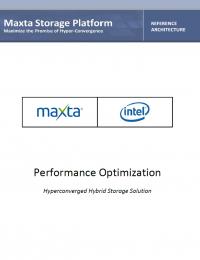 RPDF_Maxta Intel Performance-Optimized Refrence Architecture