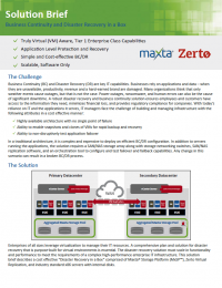 RPDF_Maxta and Zerto Solution Brief