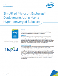 RPDF_Simplified Microsoft Exchange Deployments Using Maxta