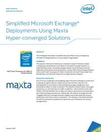 RPDF_Simplified Microsoft Exchange Deployments Using Maxta